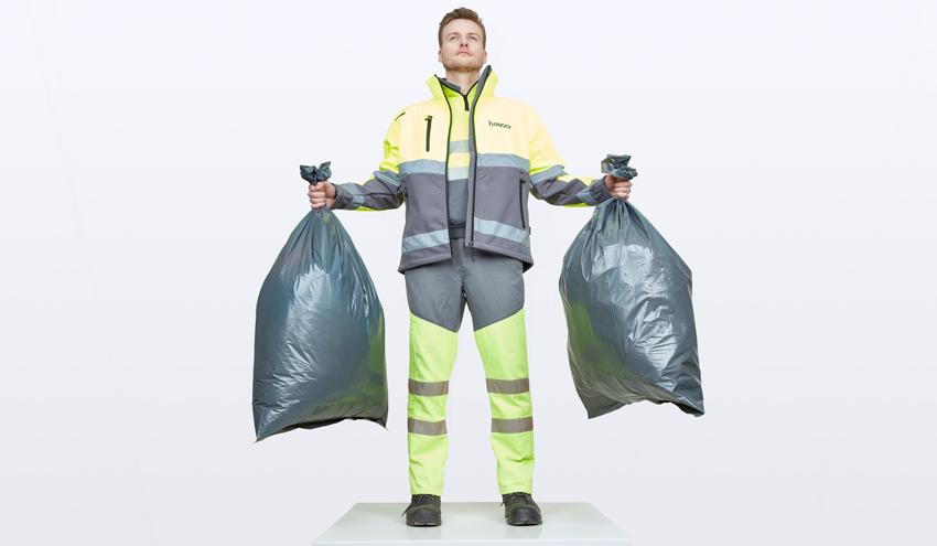 Een vuilnisman in 2030