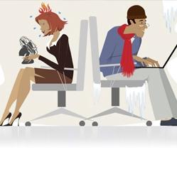 Trop chaud ou trop froid au bureau ? 12 conseils utiles