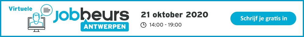 Virtuele Jobbeurs Antwerpen 2020