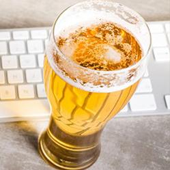 L'alcool au travail a des effets positifs