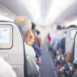 Qu'est-ce qui vous dérange le plus quand vous prenez l'avion ?