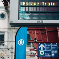 La SNCB recherche 360 nouveaux conducteurs de train : de l'Escape Room à l'Escape Train