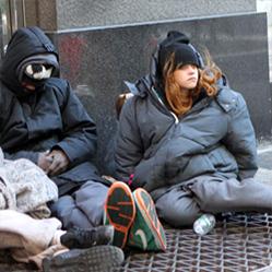Au Royaume-Uni, plus de la moitié des sans-abri ont un emploi