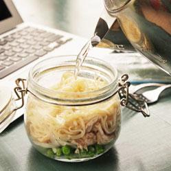 5 lunchs en pot sains et délicieux