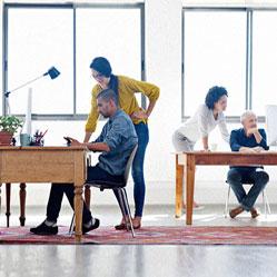 Travaillez-vous confortablement dans un open space ?