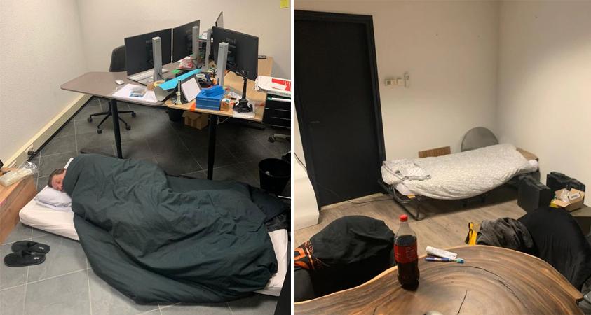 Werknemers van Dutch Deco Finish in quarantaine op kantoor