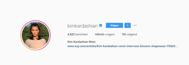 Instagram Kim Kardashian West