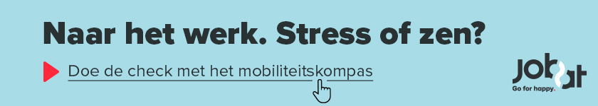 Naar het werk: stress of zen?