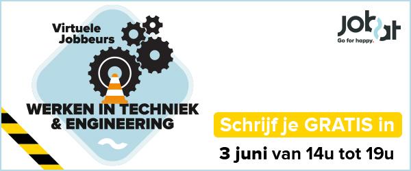Virtuele jobbeurs Techniek & Engineering 2021