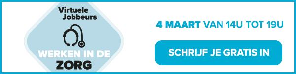 Jobat virtuele Zorgbeurs 4 maart 2021