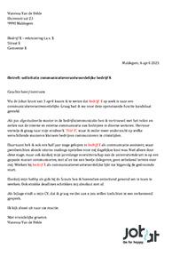 motivatiebrief mcdonalds Een goede sollicitatiebrief: 2 voorbeelden   Jobat.be motivatiebrief mcdonalds