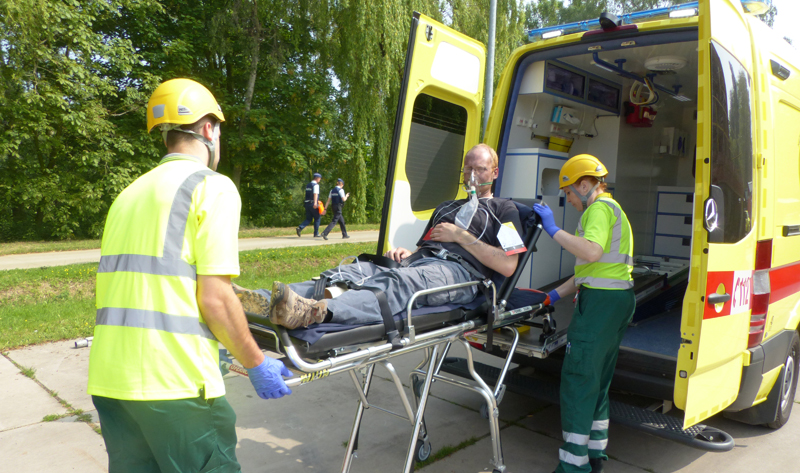 hulpverleners-ambulancier