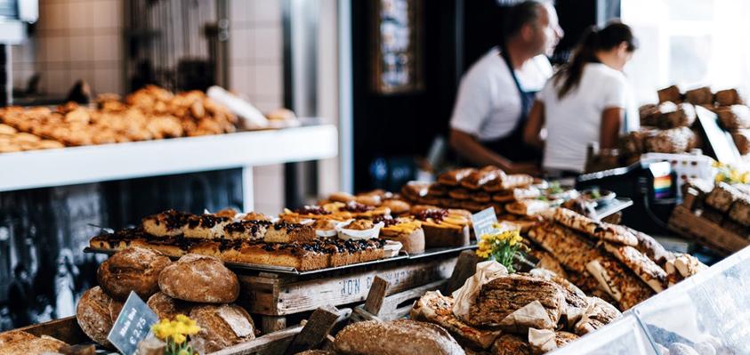 Werken in een bakkerij