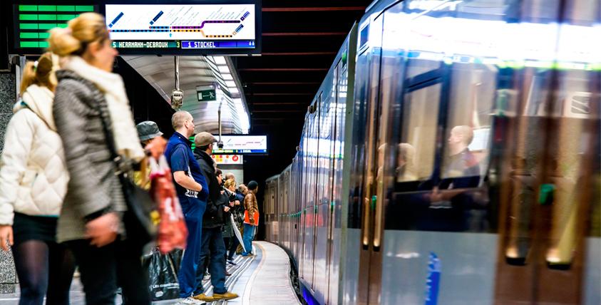 Metro in Brussel
