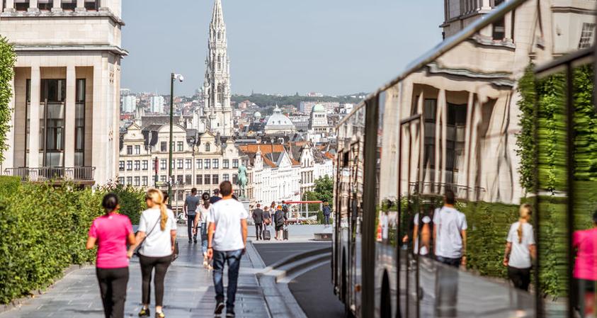 Werken in Brussel