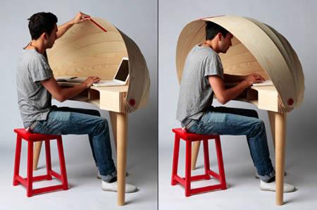 de 6 coolste bureaus aller tijden. Black Bedroom Furniture Sets. Home Design Ideas