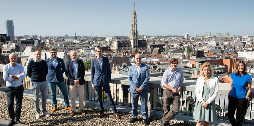 Groep Jobat rondetafel Werken in Brussel