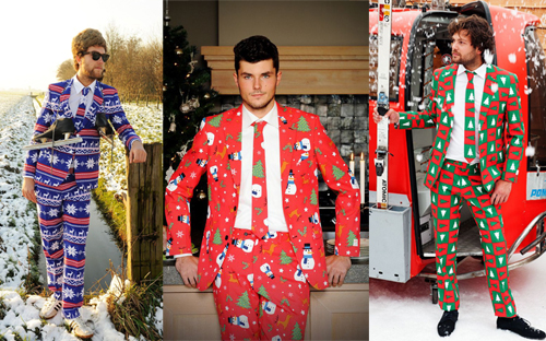 Christmas suit compilation