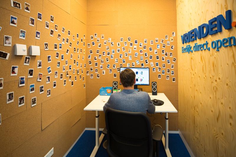 Coolblue vergaderzaal Fotobooth