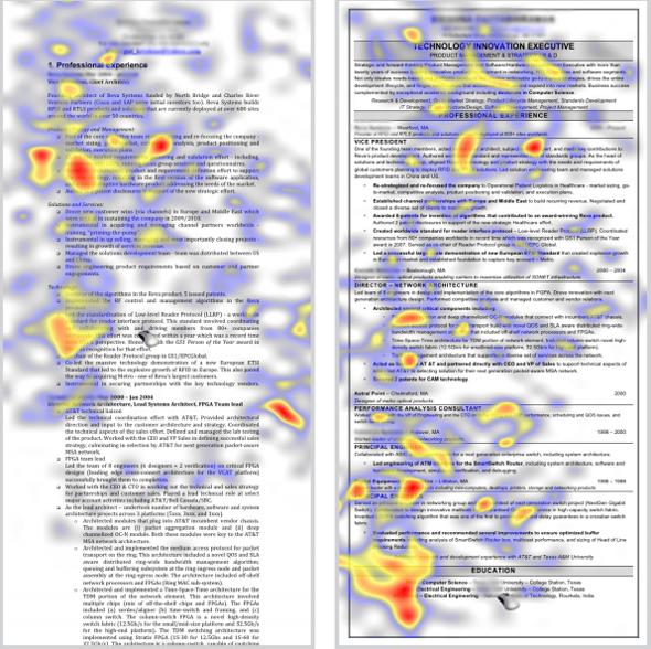 recruiters scannen cv in 6 sec  wat bekijken ze