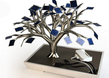 Solar Cell Tree Charger