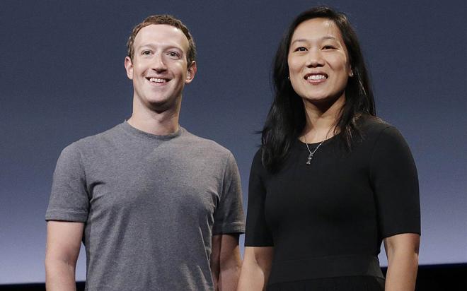 Chan en Zuckerberg