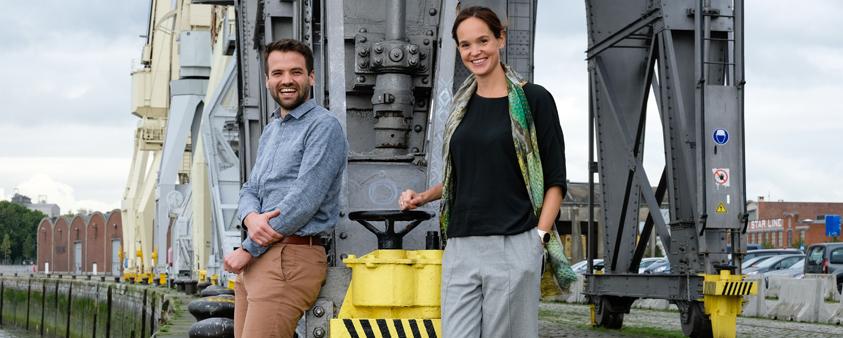 Benoit en Katrien van Lantis