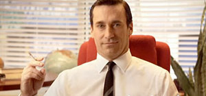 Don Draper uit Mad Men