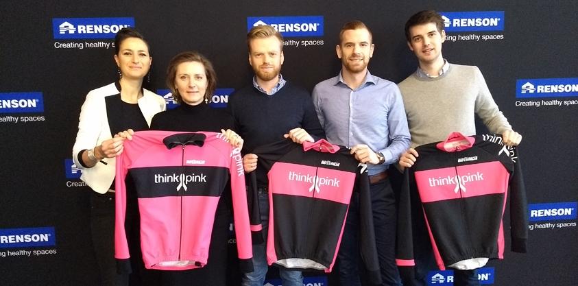 Renson steunt Think Pink