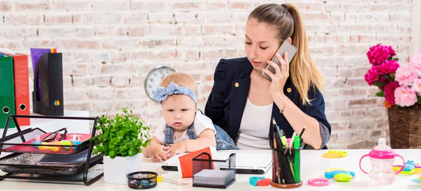 Thuiswerk en kinderopvang