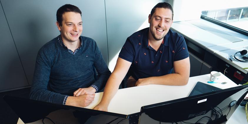 Thomas Verwee en Ruben Herman van SII Belgium