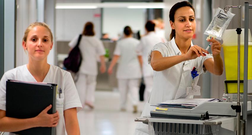 Werken in een ziekenuis