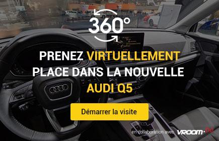 Prenez virtuellement place dans la nouvelle Audi Q5