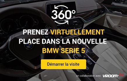 Prenez virtuellement place dans la nouvelle BMW 5