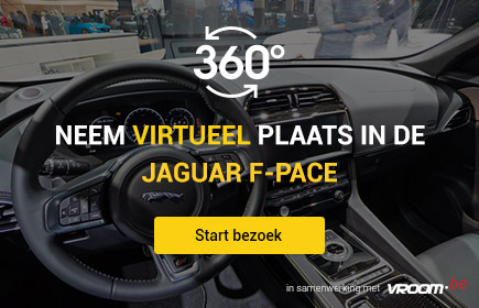 Neem virtueel plaats in de Jaguar F-Pace