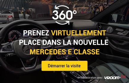 Prenez virtuellement place dans la nouvelle Mercedes E