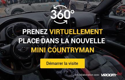 Prenez virtuellement place dans la nouvelle Mini Countryman